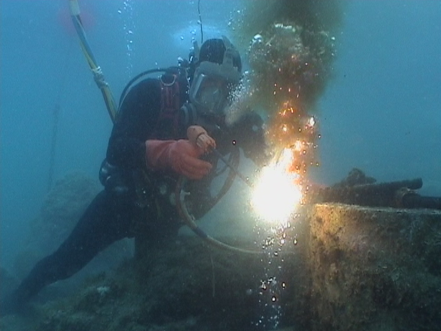 Of underwater welding include the risk of electric shock to the welder