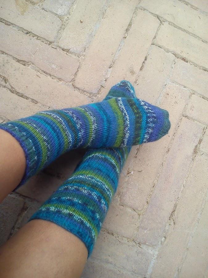 Reciclar mezclilla - Como hacer calcetines de punto ...