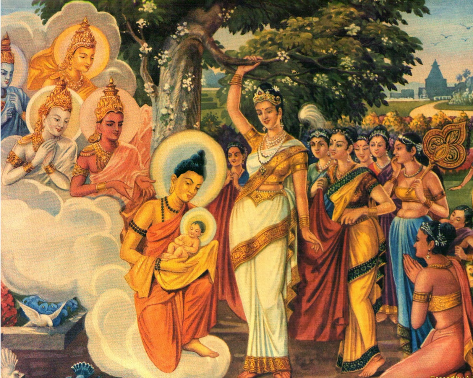 a description buddha indian philosopher and the founder of buddhism born in lumbini nepal 'lord buddha was not born in orissa' history says the buddha was born at lumbini in nepal buddhism was founded in india, when lord buddha, the founder of buddhism, attained supreme enlightenment under the bodhi tree in bodhgaya in 6th century bc.