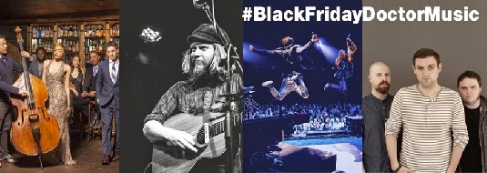 ¡LLEGA EL BLACK FRIDAY DE DOCTOR MUSIC! VIERNES 28 DE NOVIEMBRE SOLO DURANTE 24h TUS ENTRADAS AL 50%
