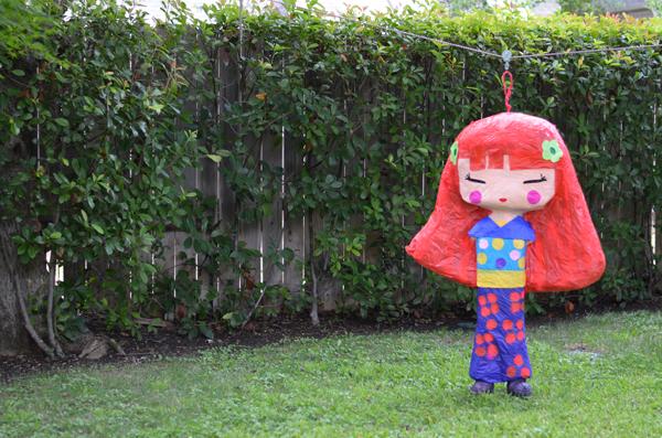 kokeshi Doll party, www.mimosalaneblog.blogspot.com