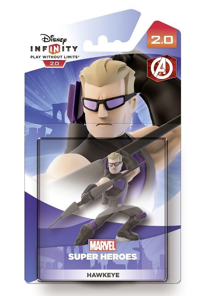 TOYS - DISNEY Infinity 2.0 - Figura Hawkeye  Producto Oficial | Marvel | Videojuegos | A partir de 7 años  PlayStation 4, Nintendo Wii U, PlayStation 3, Xbox 360, Xbox One