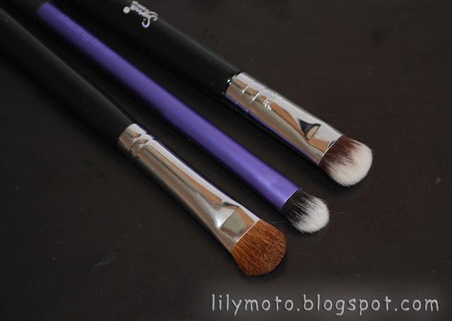 Sigma E55, Real Techniques Shading Brush, Mr.Bunny Travel Kit E55