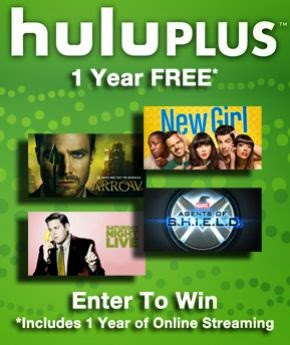 Win a Full Free Year of Hulu Plus thanks to The Movie Network!