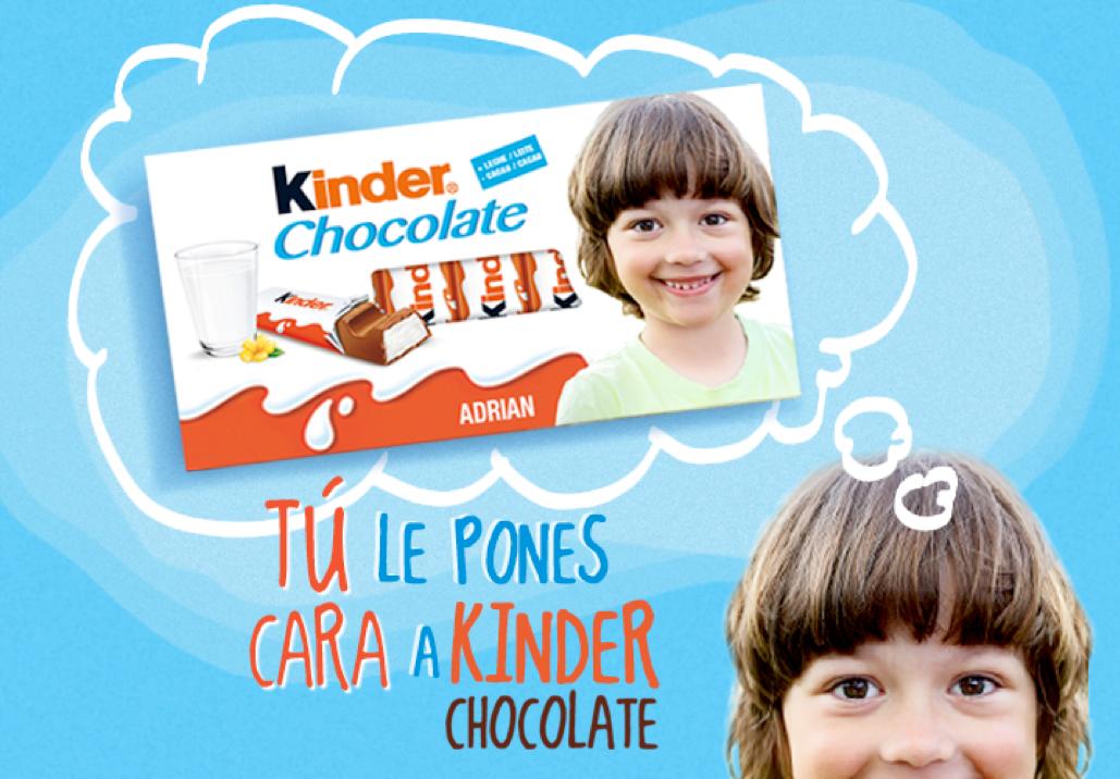 Gana premios con Kinder Chocolate