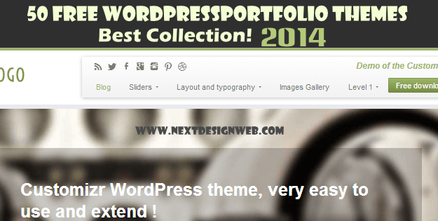 25 Best Free Portfolio WordPress themes 2014