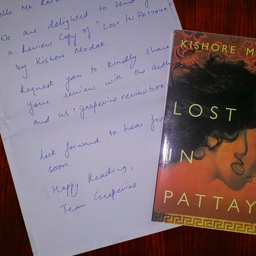 Lost in Pattaya Review Copy: Day 5 of 100 Happy Days Challenge
