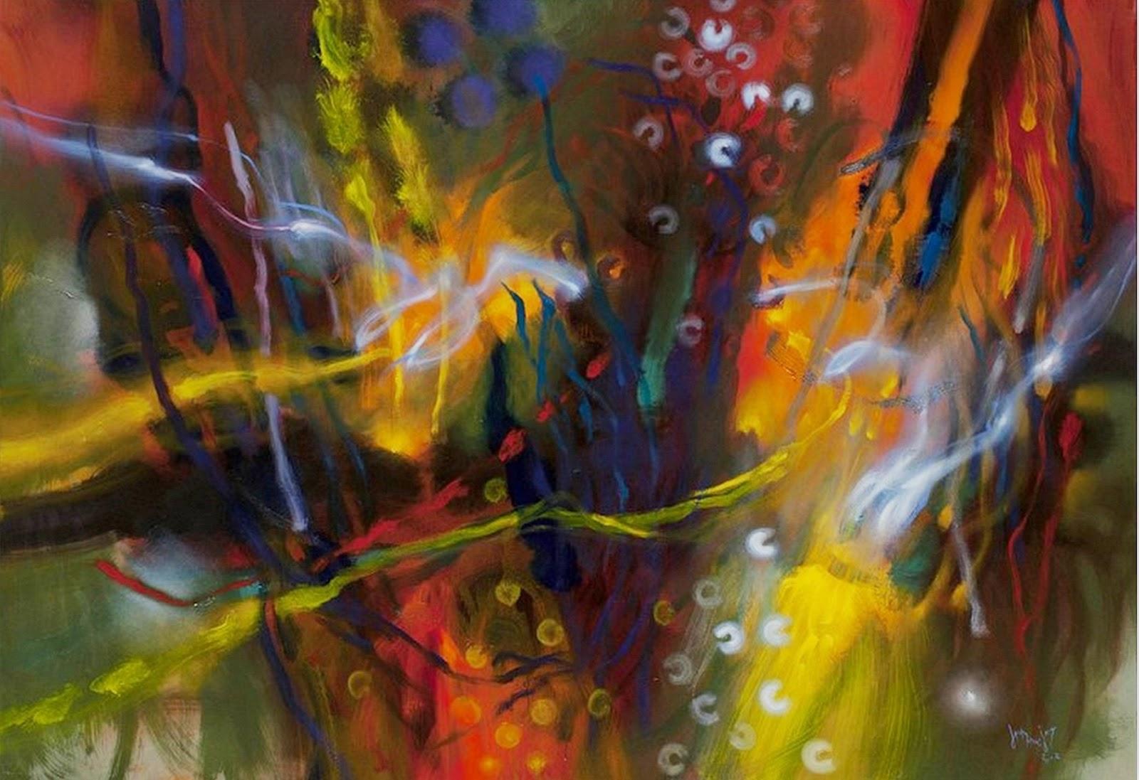 Cuadros pinturas oleos bonitos cuadros abstractos para sala for Imagenes de cuadros abstractos modernos para sala
