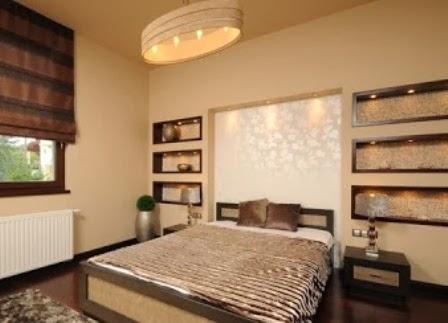 dekorasi kamar tidur dengan seni desain klasik