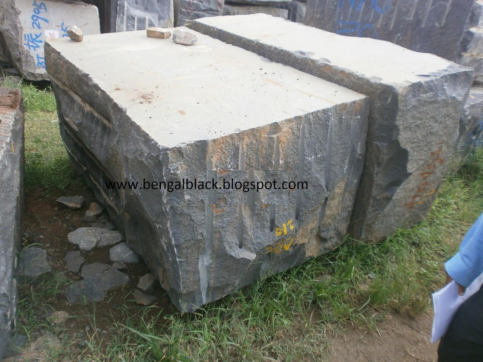 Marble Small Block : Aapt granite bengal black blocks small