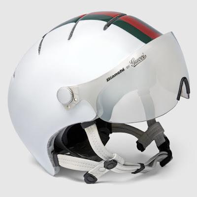 Bianchi + Gucci helmet