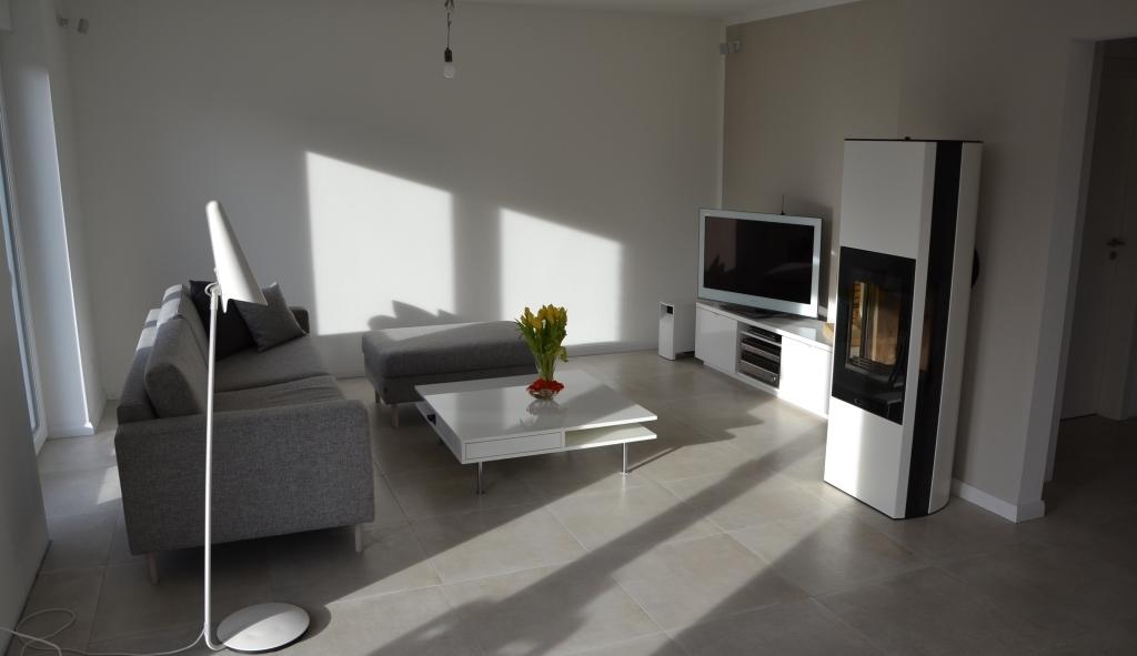 Musterhaus inneneinrichtung wohnzimmer  aus B wird HVL: Inneneinrichtung