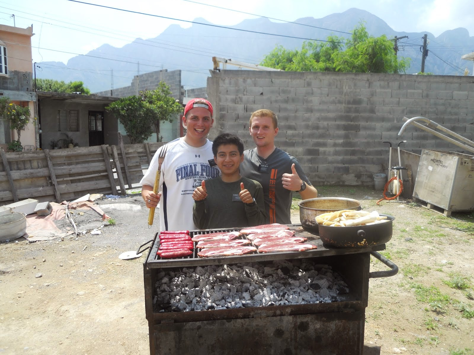 BBQ's even in Mexico