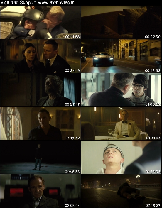 Spectre 2015 Dual Audio Hindi 480p BluRay