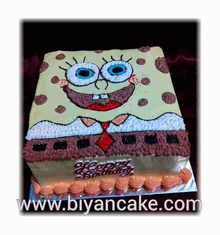 Cake Spongo bob ~ Kiwi