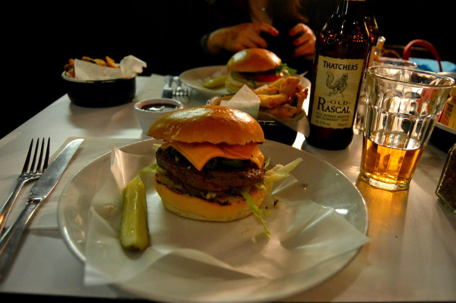 Byron burger after #nyLDNmeet blogger meet
