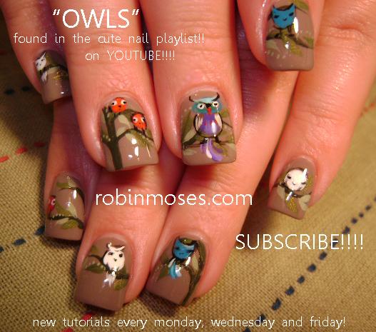Robin Moses Nail Art: pink daisy nail art design. pink and purple ...