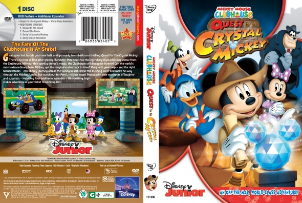 Mickey Clubhouse: the quest for the crystal (2013) DvdRip Latino