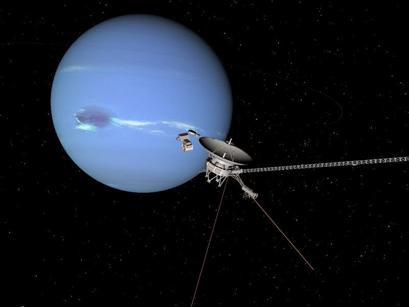 voyager 2 neptune triton - photo #27