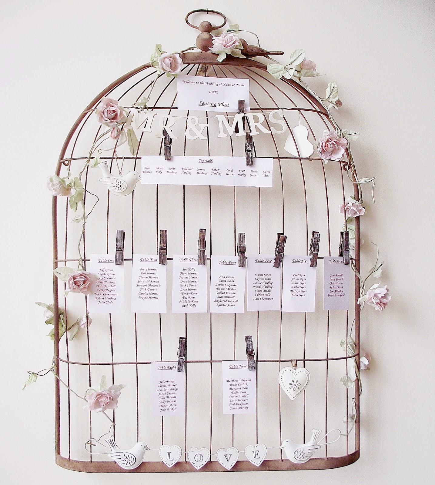 Ma d co passe table inspiration cages oiseau - Petite cage oiseau deco ...
