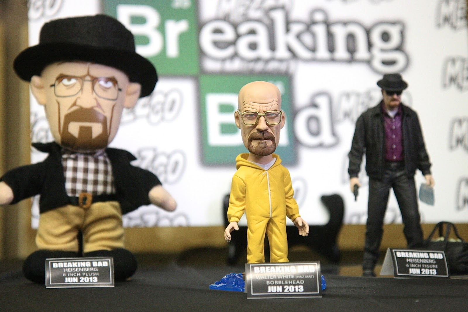 Mezco Previews Breaking Bad Action Figure and Bobblehead ...