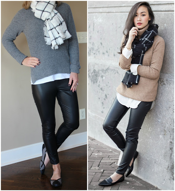 tlnique, outfit inspiration, street style, how to wear leather leggings, what to wear