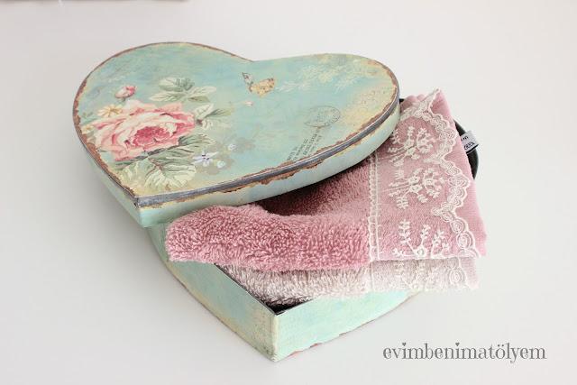 soft romantik havlu,dantelli havlu