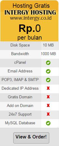 Web Hosting Gratis