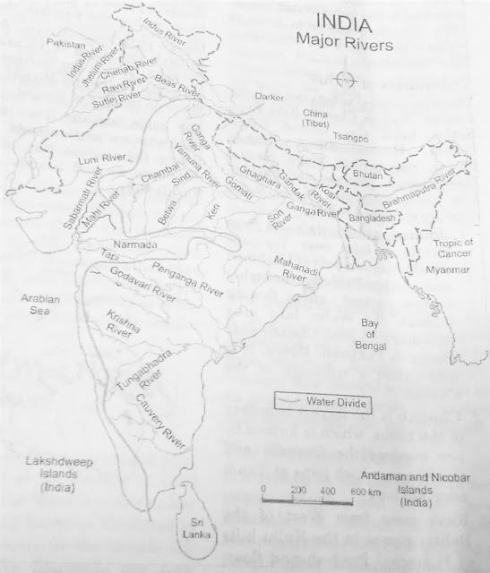 India's Most important rivers