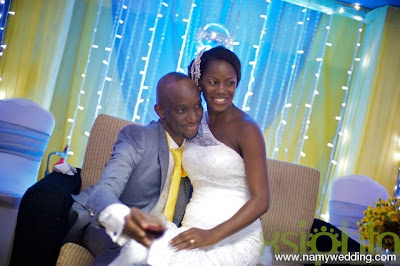 Pictures From Obiwon's Church Wedding & Reception. 28
