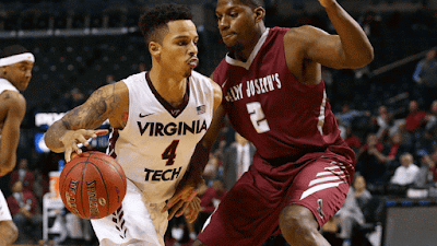 NCAAB : Hokies Look to Upset Ranked Mountaineers