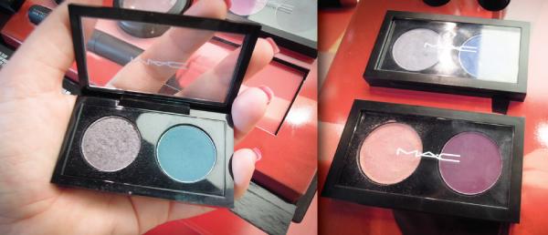 maquiagem/make up - Lançamento MAC Reel Sexy - Pátio Savassi - duo de sombras dynamic