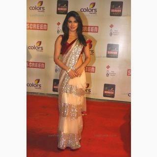 Priyanka chopra saree