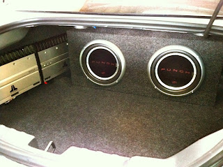 2012 Chevy Camaro Basic Custom Subwoofer Sealed Enclosure