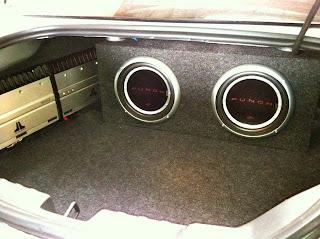 2012 Chevy Camaro Basic Custom Subwoofer Sealed Enclosure