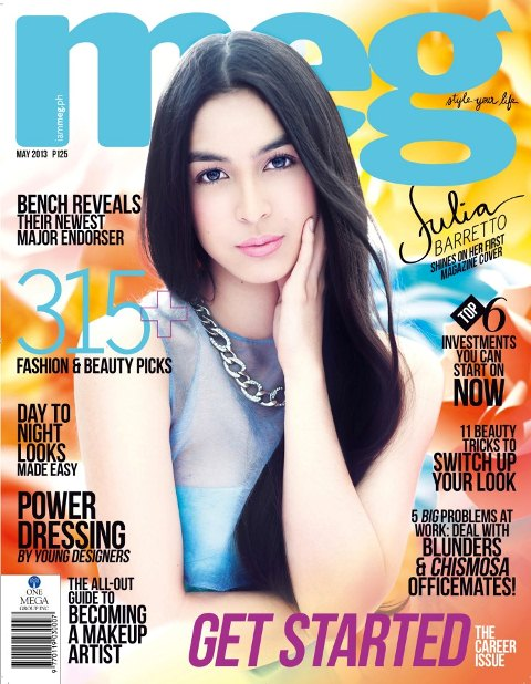 julia barretto debuts first magazine cover voicepoints t