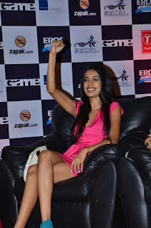 WWW..BLOGSPOT Bollywood Tollywood Indian Actress Sarah Jane Dias  at Game Film Event Picture Stills Gallery 0013