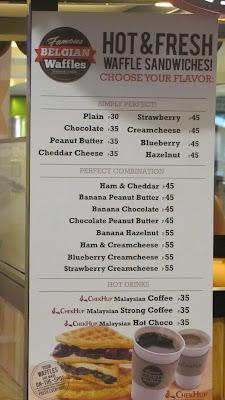 #032eatdrink, food, cebu, waffles, belgian waffles