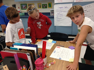 Students Do Paper Blogging | The Adventures in Mrs. Ripp's Class
