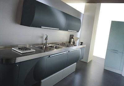 Кухонный гарнитур: модель Trendy space от фабрики Aster Cucine.