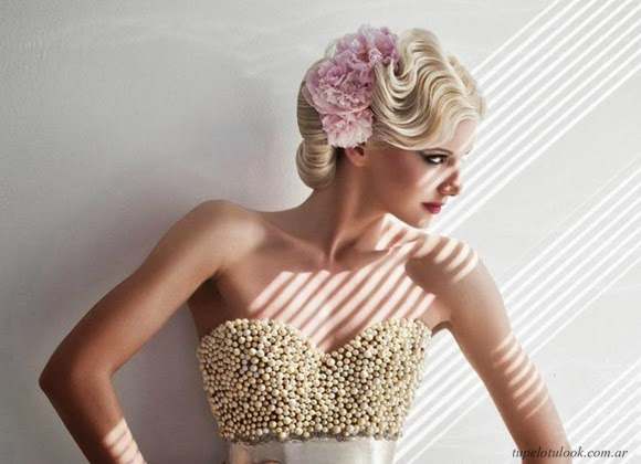 peinados de novia 2014