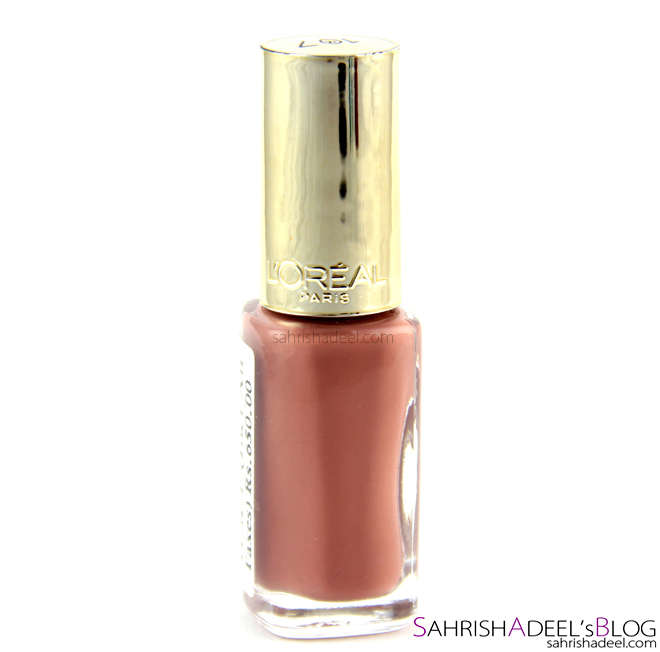 L'Oreal Colour Riche Nail Polish In 107 Beige Boheme