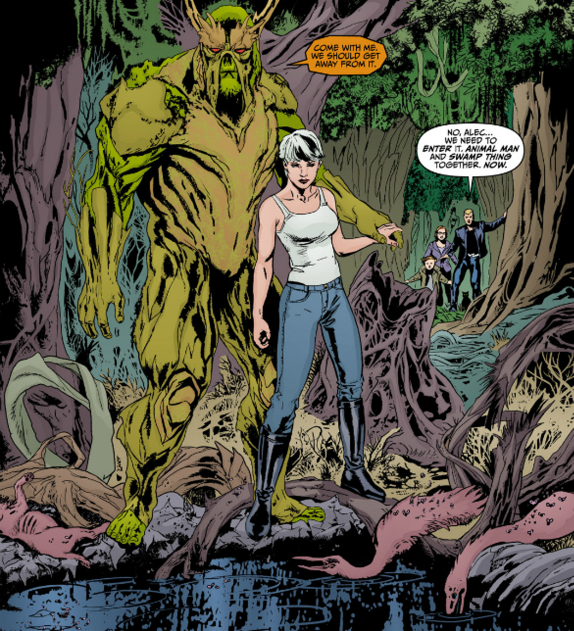 "But I digress yet again - Big fan of Steve Pugh's ""look"" for Swamp ..."