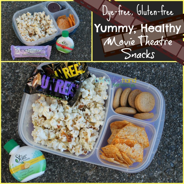 Packed snacks for the movies!