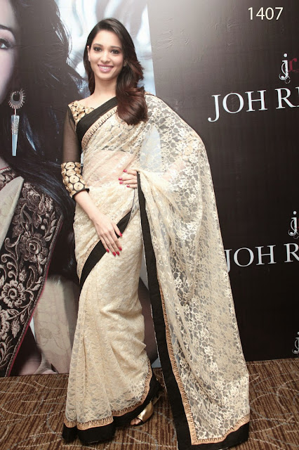 Bollywood Designer White Net Saree