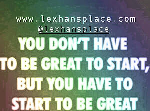 great starts lexhansplace