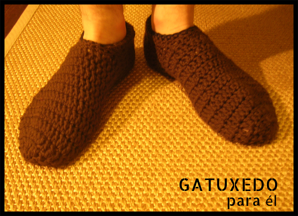 Gatuxedo - A Blog About Stitching: Slippers for Men