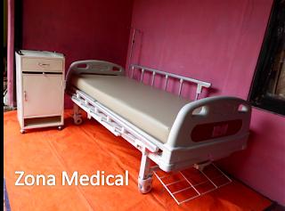 Tempat Tidur Pasien Rumah Sakit ABS 1 Crank SELLA [ RZ-26C ]