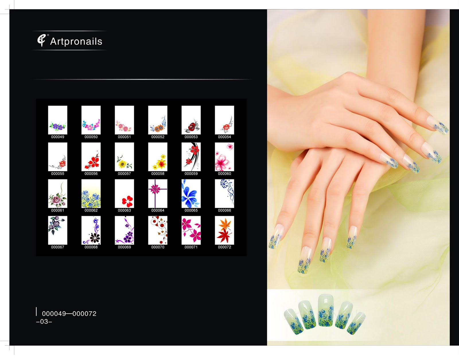Artpro nails sg catalog for digital nail art design catalog for digital nail art design prinsesfo Image collections