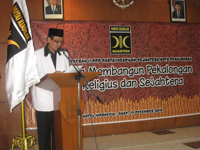 Sambutan Ketua DPW PKS Jateng : Drs.A.Fikri Faqih, MM